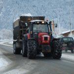 Abtransport des Schnees