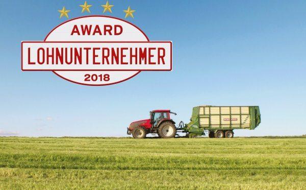Sieg beim Lohnunternehmer Award 2018